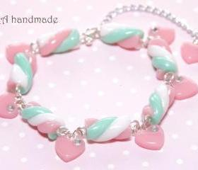 Kawaii marshmallow bracelet