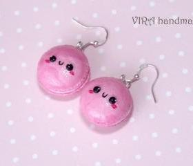 Kawaii macaroon earrings
