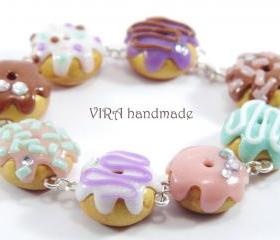 Cute doughnut bracelet